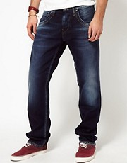 Pepe Jeans Tooting Regular Fit Mid Wash