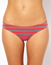 Pieces Gibb Stripe Bikini Bottom