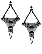 ASOS Jewelled Shard Earrings