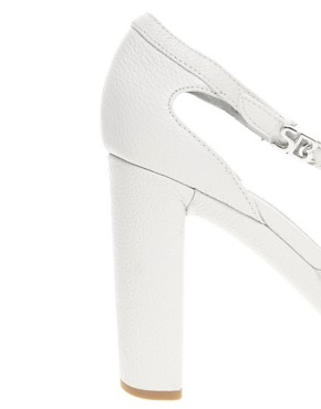 Image 2 ofSee By Chloe T Bar Heeled Leather Sandal