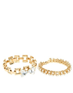 Image 4 ofASOS Love Bracelet Multipack
