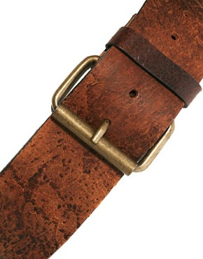 Image 2 of Black & Brown London Helen Leather Wide Waist Belt