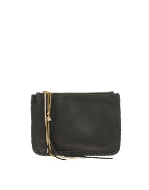Image 1 ofZara Martin For Made Exclusive To Asos Kips Whipstitch Clutch