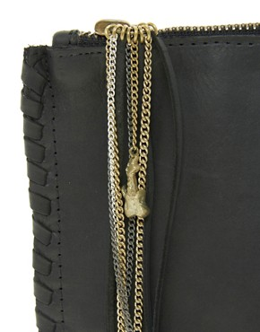 Image 4 ofZara Martin For Made Exclusive To Asos Kips Whipstitch Clutch