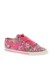 Gola Liberty Quota Melly Pink Trainers