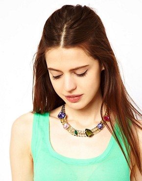 Image 3 ofASOS Multipack Mix Jewel Necklaces