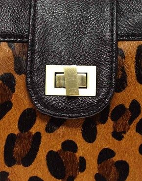 Image 4 of Oasis Leopard Cross Body Bag