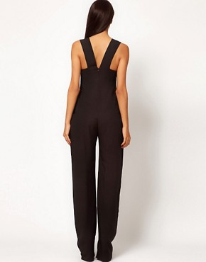 Image 2 ofAqua Shuffle Bodice Jumpsuit