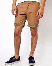 Native Youth Camo Shorts