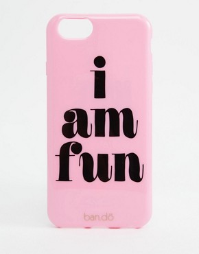Funda iPhone 6/6s Back I Am Fun de Ban.Do