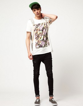Image 4 ofNew Love Club Floral T-Shirt