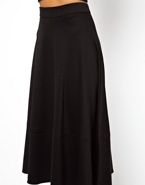 Image 3 ofASOS Midi Skirt In Ponte