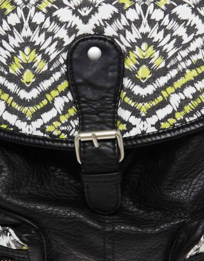 Image 4 ofNew Look Ikat Pocket Backpack