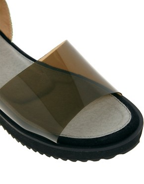Image 2 ofASOS VACUUM Flatform Sandals