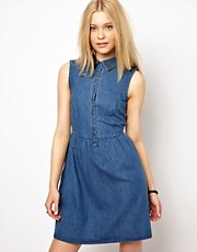 River Island Chelsea Girl Denim Shirt Dress