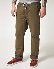 Izzue Contrast Waistband Chinos