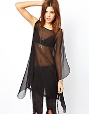 Diesel Sheer Oversized Top