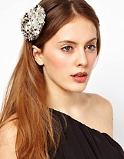 Orelia Sequin Flower Head Band