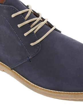 Image 2 ofRiver Island Baker Nubuck Chukka Boots