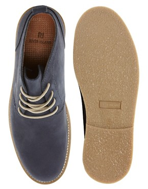 Image 3 ofRiver Island Baker Nubuck Chukka Boots