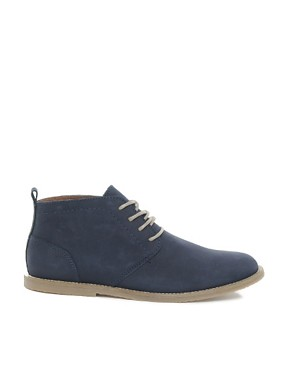 Image 4 ofRiver Island Baker Nubuck Chukka Boots