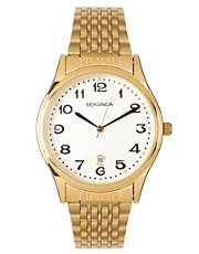 Sekonda Gold Bracelet Watch