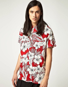 Image 1 ofReligion Vegas Hawaiian Shirt