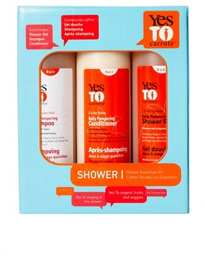 Image 2 ofYes To Carrots Shower Kit 3 x 500ml SAVE 42%