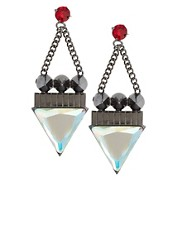 ASOS Triangle Spike Earrings