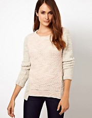 Warehouse Colour Block Jumper