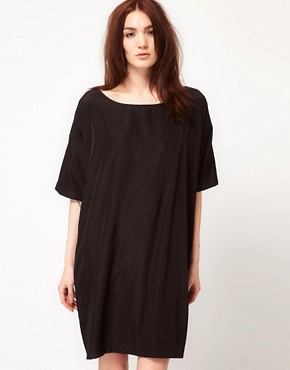 Image 1 ofAmerican Apparel Oversized T-Shirt Dress