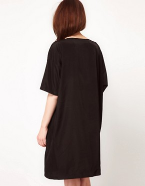 Image 2 ofAmerican Apparel Oversized T-Shirt Dress