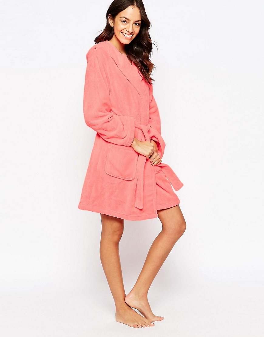 New look new look neon marl robe at asos for Robe fleurie asos