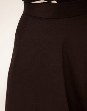 Image 3 ofASOS Fit And Flare Midi Skirt