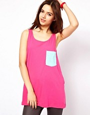 American Apparel Big Pocket Tank Top