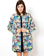 ASOS Floral Printed Coat