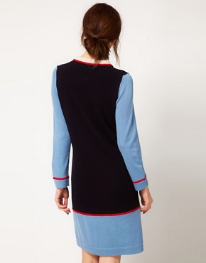 Image 2 ofBoutique by Jaeger Knitted Dress with Collar