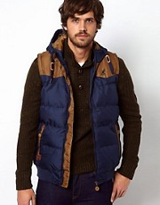 Kangol Hooded Gilet