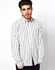 Gant Rugger Oxford Cotton Shirt With Stripe