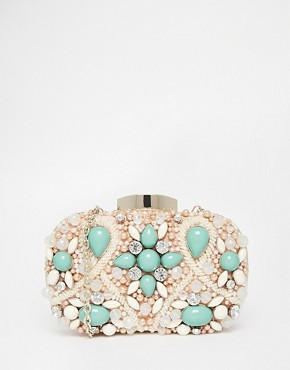 ALDO Beaded Box Clutch