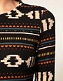 Image 3 ofVero Moda Navajo Pattern Long Sleeve Dress