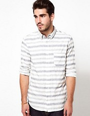 Edwin Shirt Captain Horizontal Stripe
