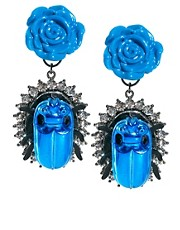 ASOS Rose Beetle Earrings