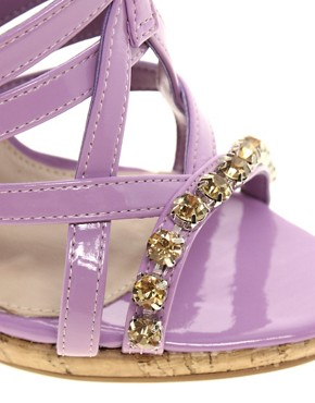 Image 3 ofCarvela Gloria Jewel Strap Wedges