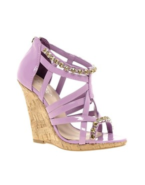 Image 1 ofCarvela Gloria Jewel Strap Wedges