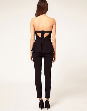 Image 2 ofASOS Peplum Jumpsuit