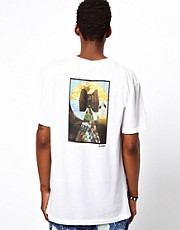 Altamont T-Shirt Zen Mafia Back Print Pocket