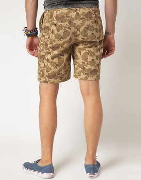 Image 2 ofASOS Camo Print Chino Short