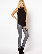 Vivienne Westwood Anglomania For Lee Skinny Jean In Steel