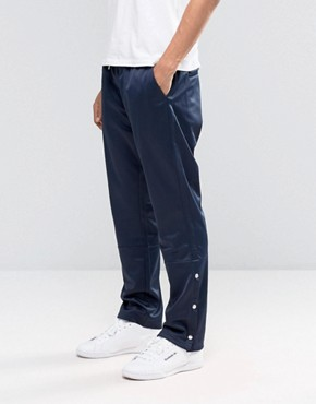 Weekday WCT Track Trousers in Navy